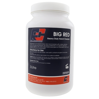 BIG RED 3LTR HEAVY DUTY HAND CLEANER